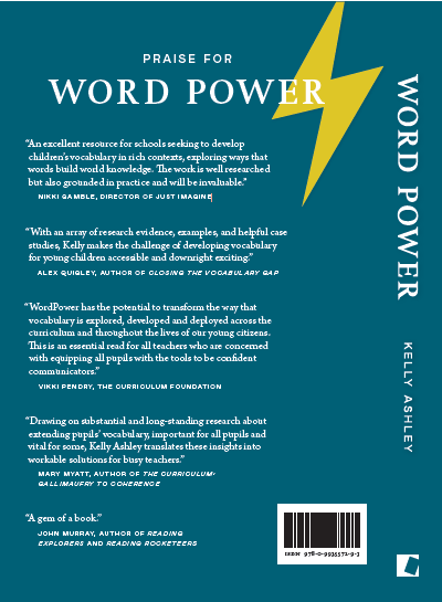 word power back cover